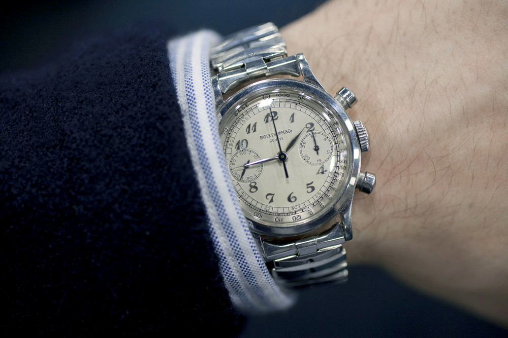Stainless Steel 1463 On The Wrist
