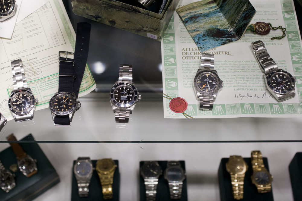 Vintage Watches At The Miami Beach Antique Show