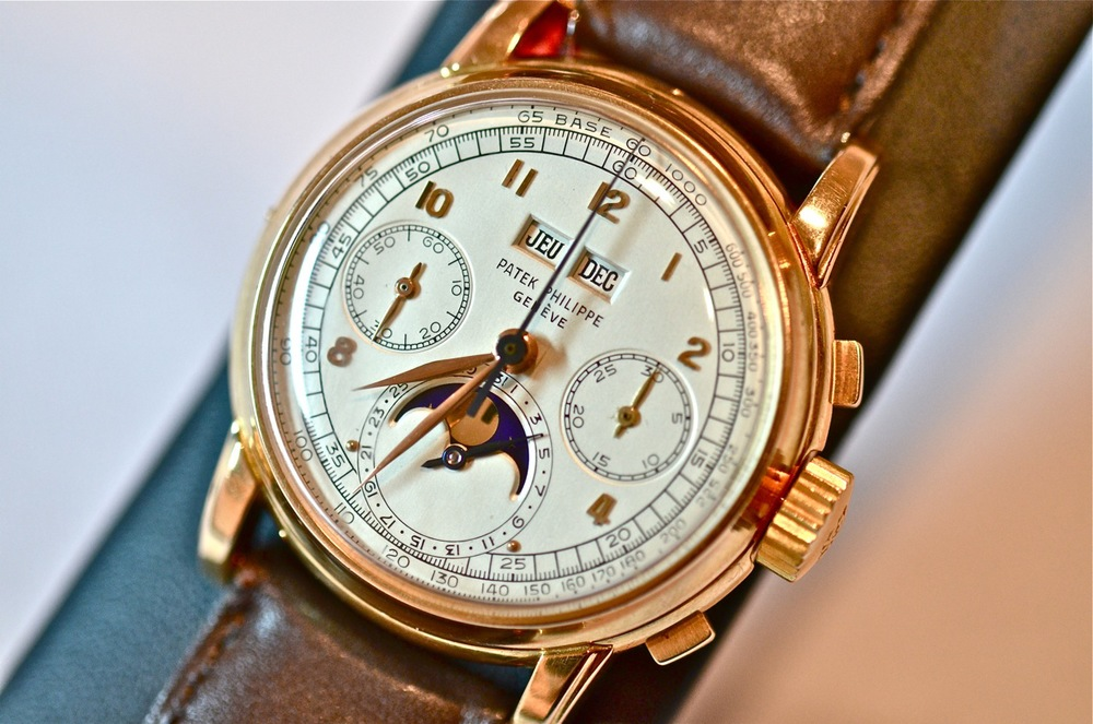 This 2499 first series in pink gold sold for $2.75 million in May of 2012 at Christie's Geneva.