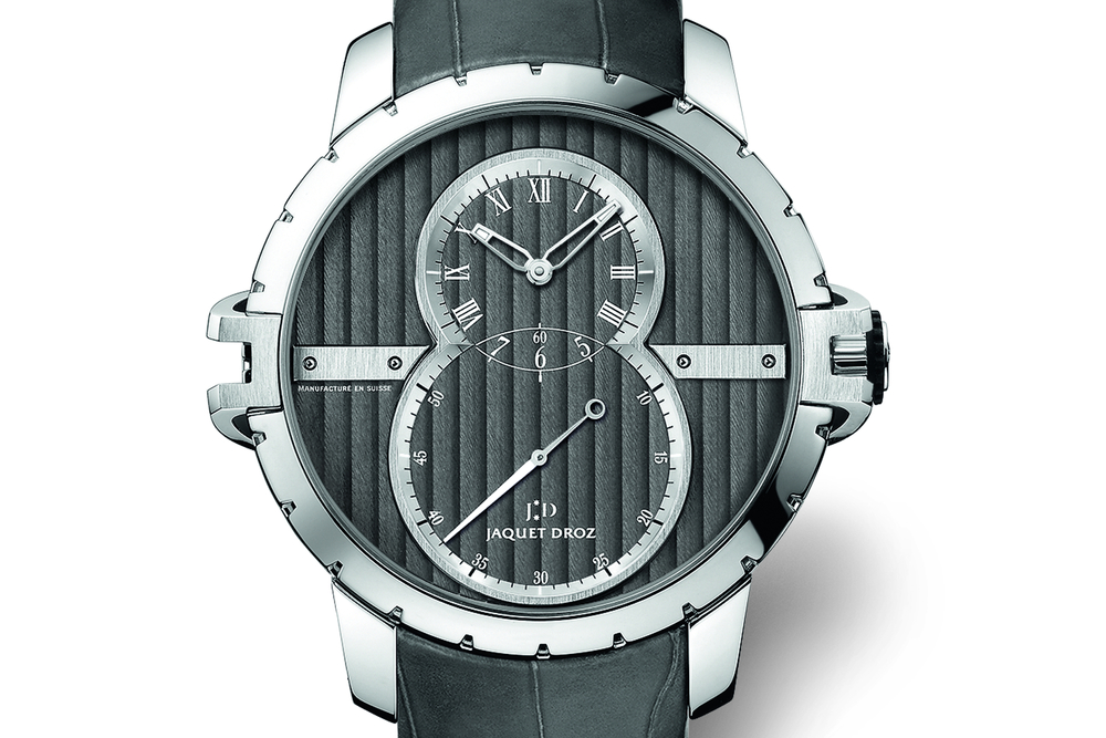 The new Grande Seconde features Côtes de Genève finishing on the dial