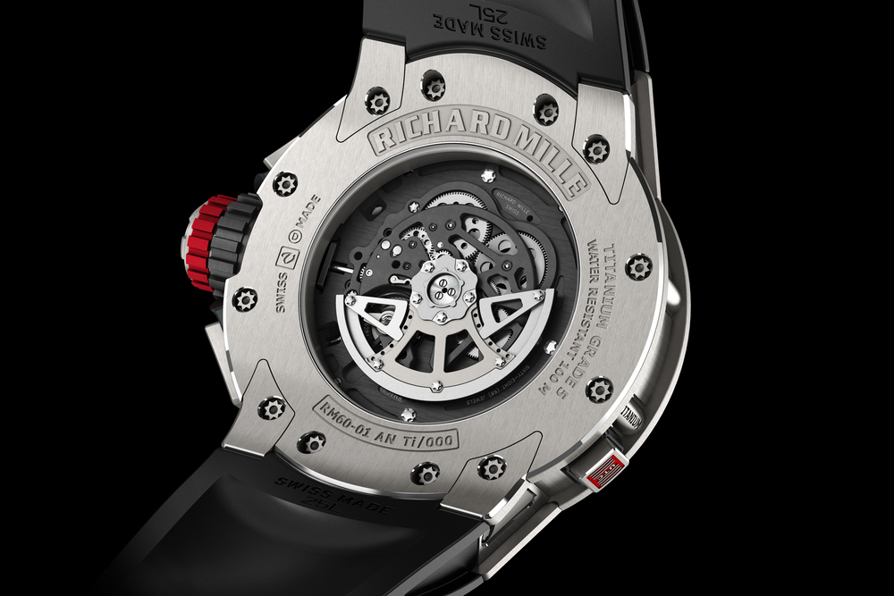 In-house Caliber RMAC2 powers a flyback chronograph function