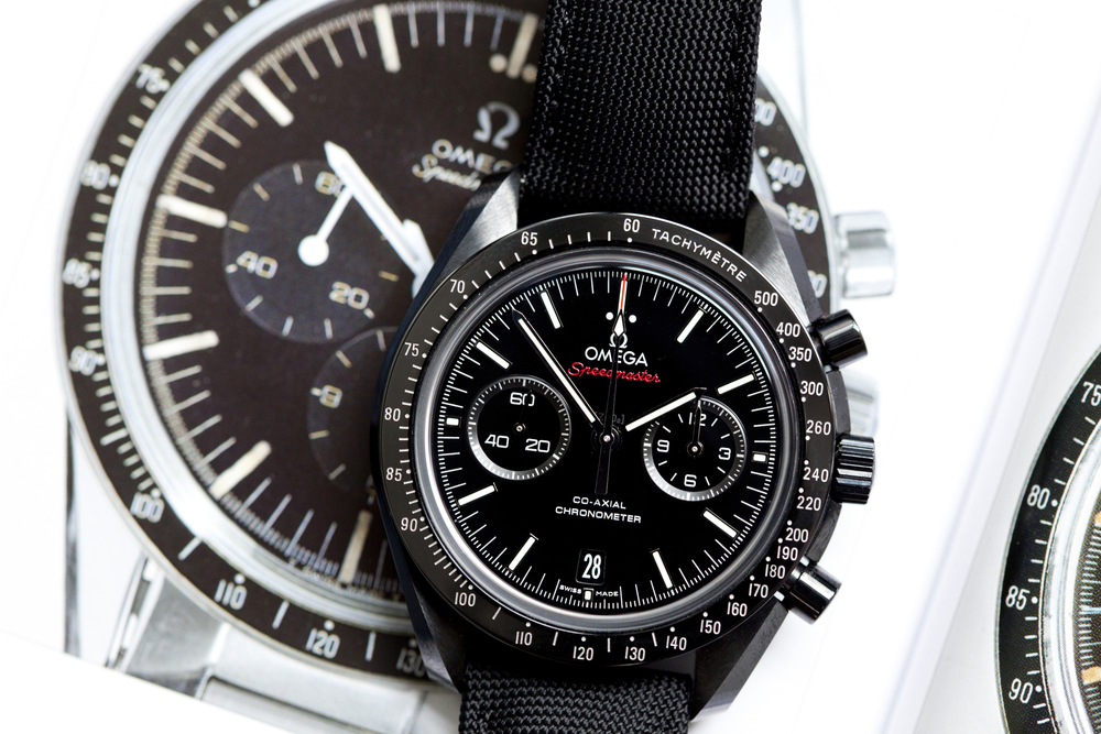 A Week On The Wrist The Omega Speedmaster Dark Side Of
