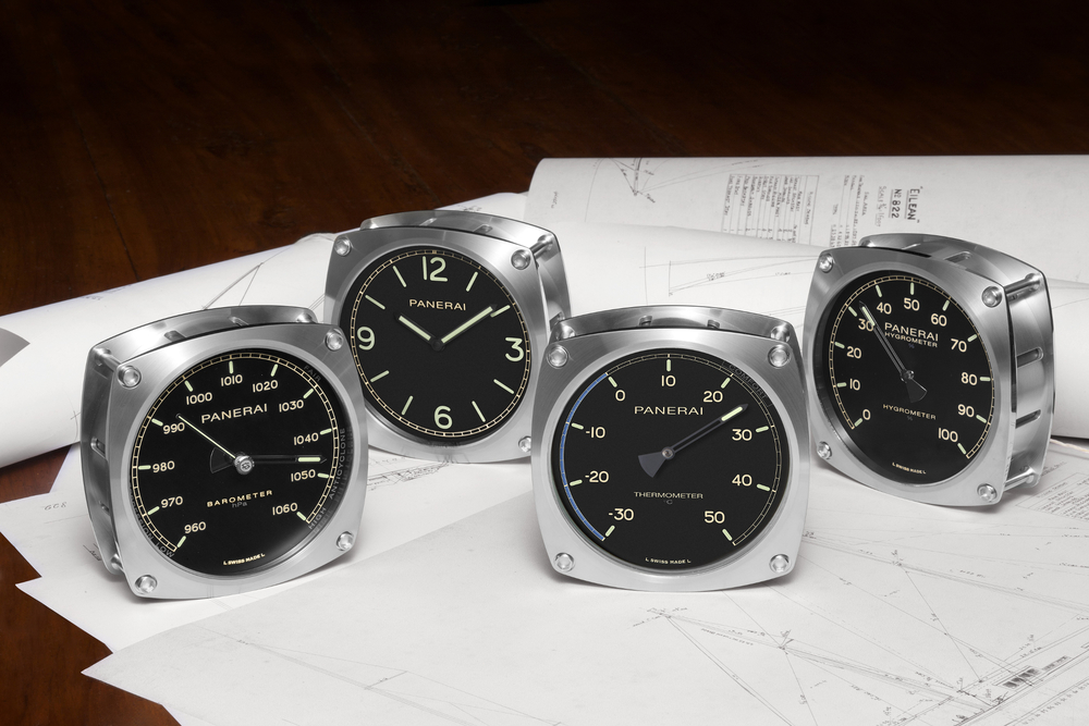 Panerai releases four new navigational instruments inspired by the 1936 Bermudian Ketch, Eilean.