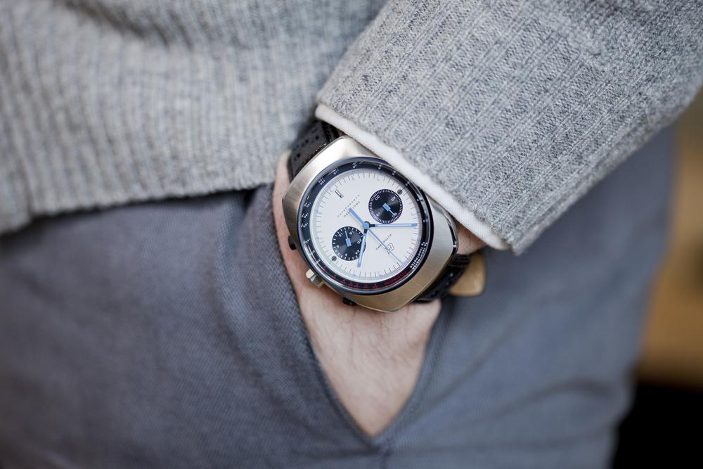 The Prototipo on the wrist