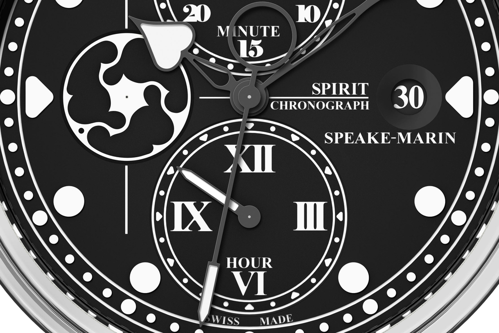 A detailed look at the Spirit Seafire's Dial