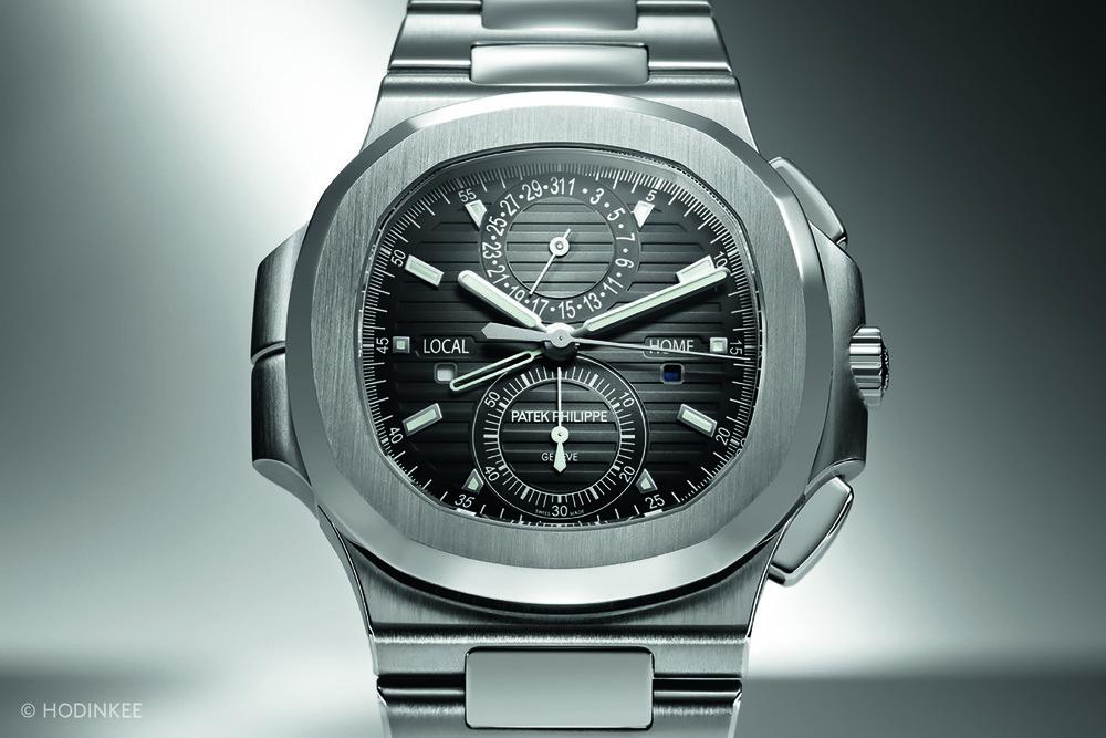 The Patek Philippe 5990/1A Nautilus Travel Time Chronograph