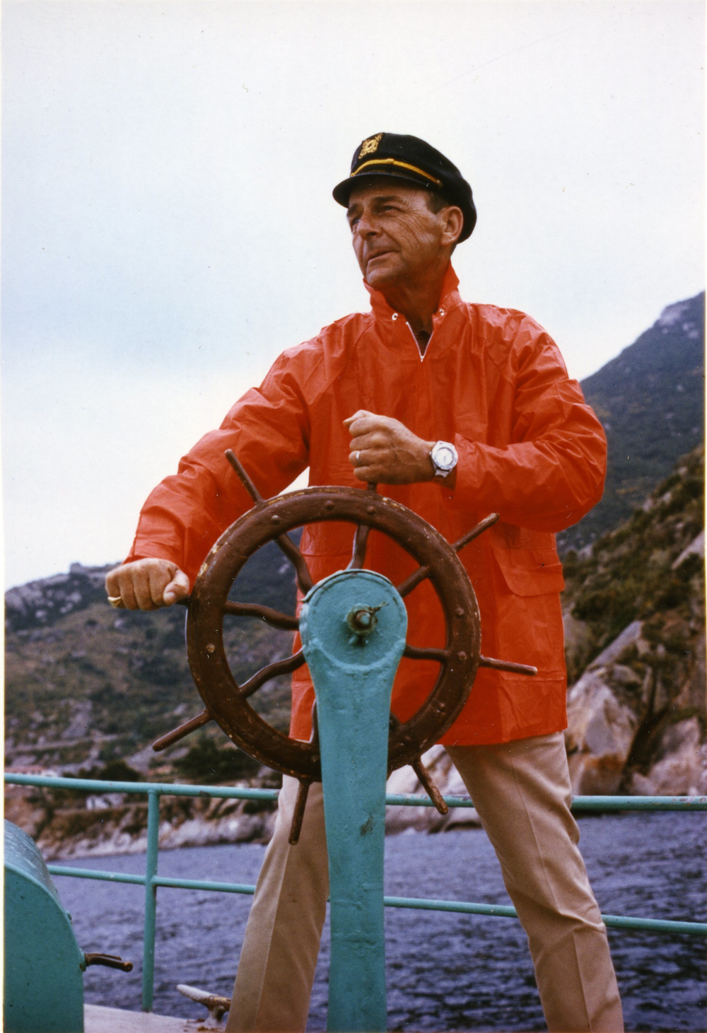 Squale founder Charles Von Buren (image courtesy of Page and Cooper)