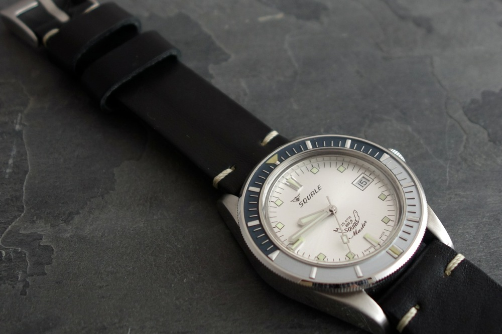 The Page & Cooper Limited Edition Squale Vintage Master (image courtesy of Page and Cooper)