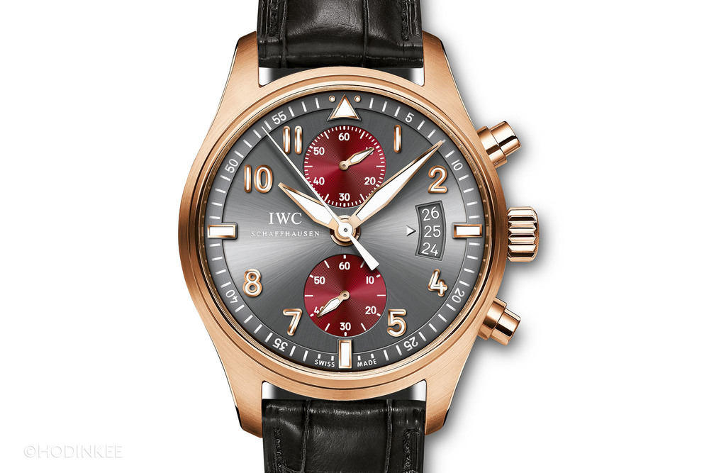 The IWC Pilot's Watch Spitfire Chronograph Edition with in-house Calibre 89365.