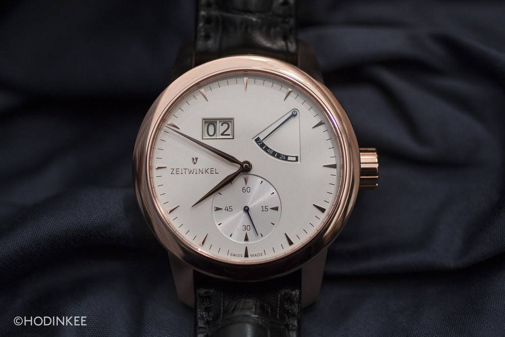 All watches from Zeitwinkel, including the 273º, will now be available in FAIRMINED gold.