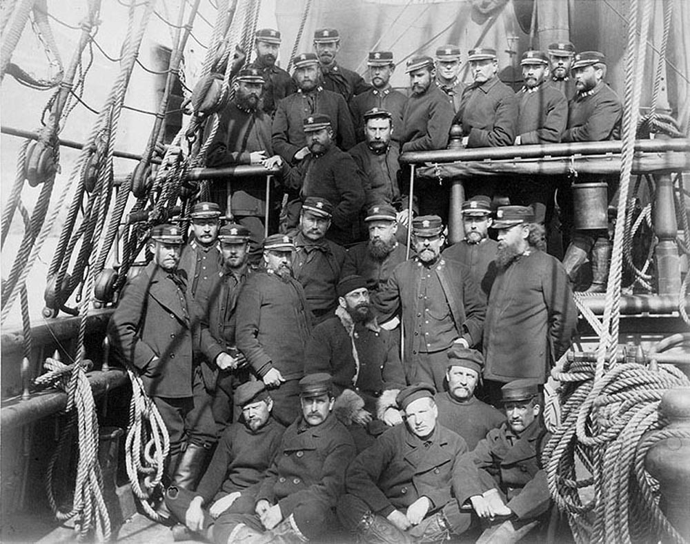 The Rescuers With The Six Survivors Of Greely's Mission