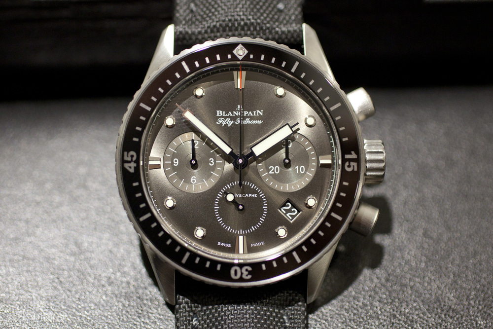 Blancpain Fifty Fathoms Bathyscaphe Chronograph