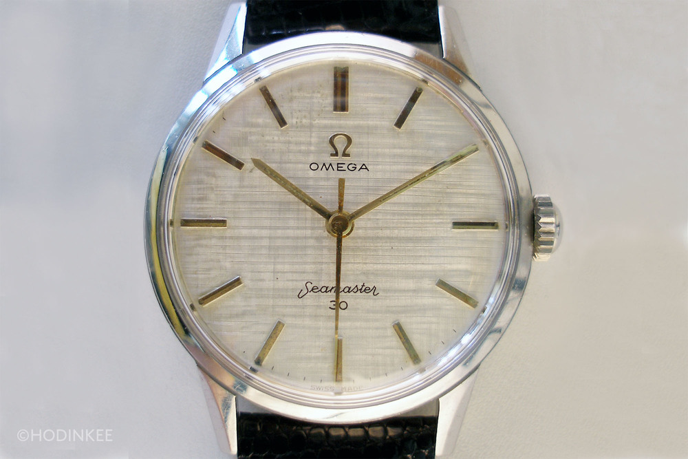 An example of an early Seamaster 30 from the Omega vintage archives.