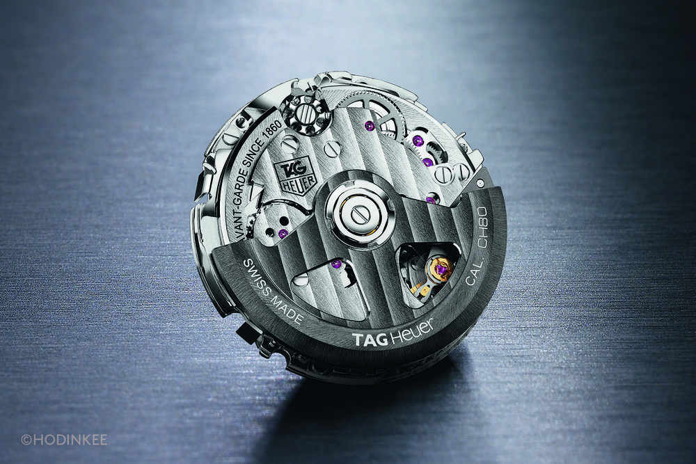 TAG expects to produce 100,000 chronograph movements in 2016, aided by a new production facility in Chevenez.