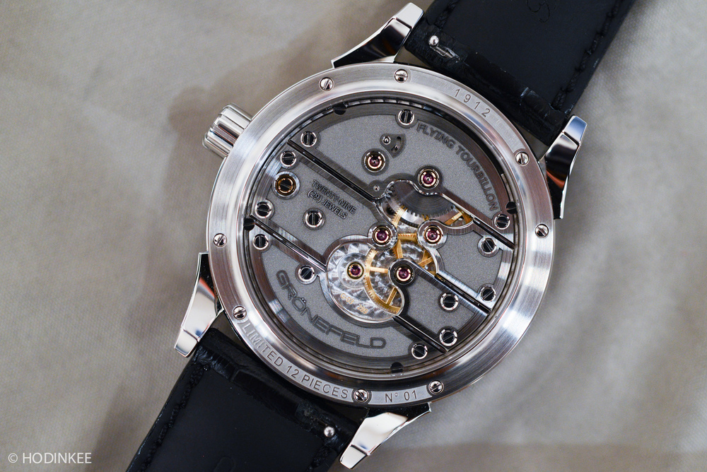 Hands on with the grönefeld parallax tourbillon live pics official