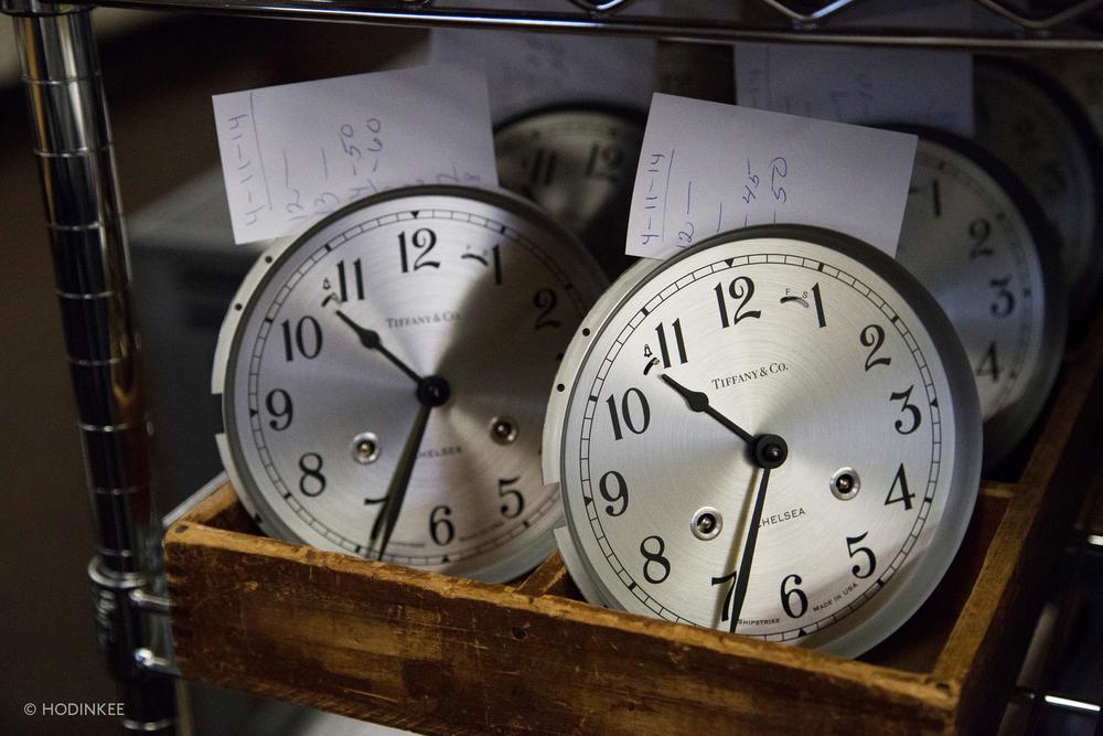 Chelsea Clock For Tiffany & Co.