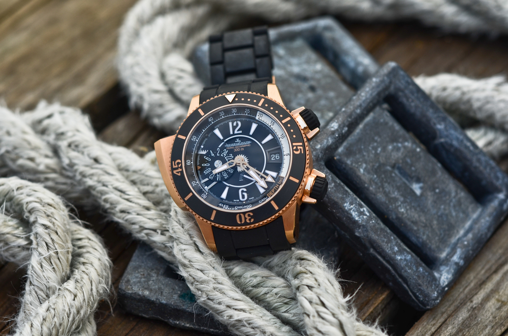 Jaeger-LeCoultre Master Compressor Diving Pro Geographic Navy SEALs (photo by Gishani)