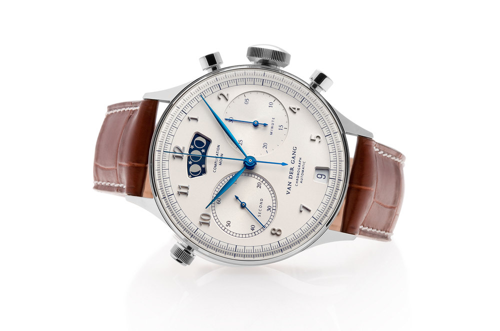 The 20020 chronograph with moon phase.