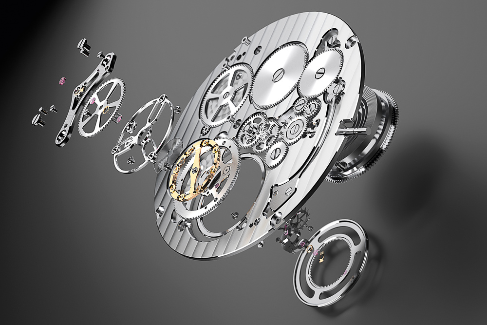 The new Bulgari calibre is just 1.95mm thick.