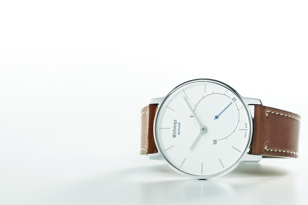 The Withings Activité also features a touch sensitive-sapphire crystal.