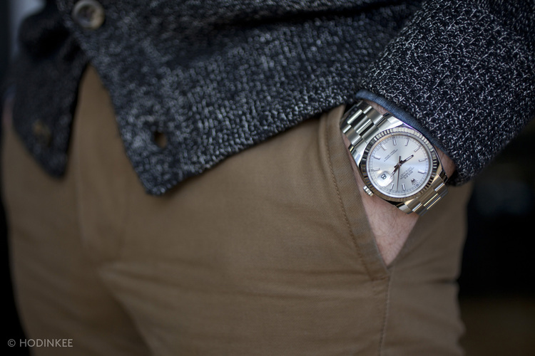 Rolex Watches for Men | Rolex Watch Reviews: A Week On The ...Rolex Datejust 36mm On Wrist