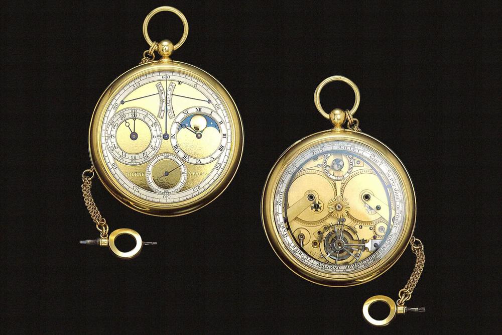 F.P. Journe - Pocketwatch with Lunarium. Images courtesy Antiquorum Auctioneers.