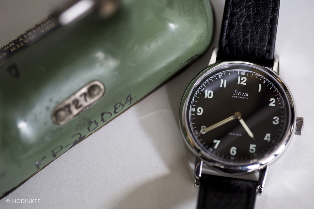 The Stowa Partitio Black Automatic