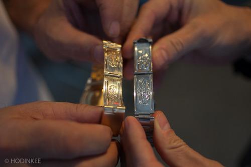 """Two """"Big Logo"""" Bracelets"""
