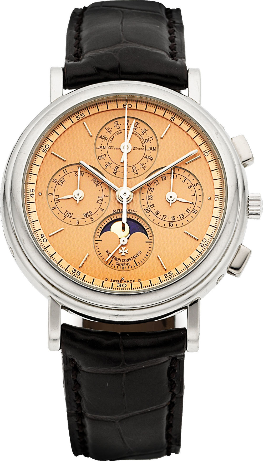 A Vacheron perpetual calendar chronograph sold by Heritage Auctions in May for $24,375 with premium.