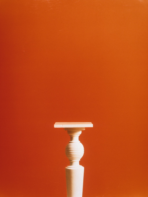 "Covers: Pedestal (1997) (20""x24"") color photograph"