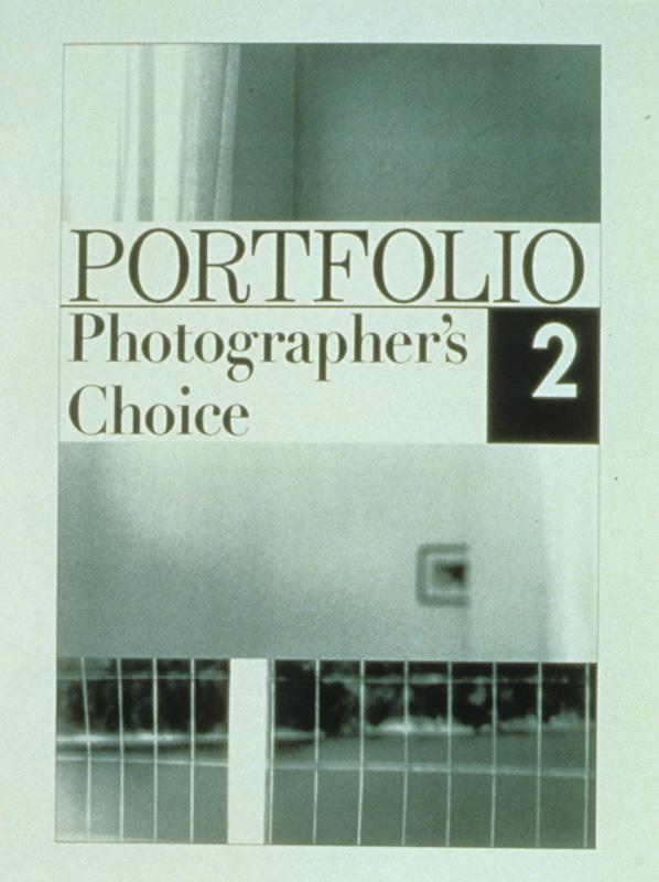 """Portfolio"" (1995) (8""x10"") B/W laser print on paper."