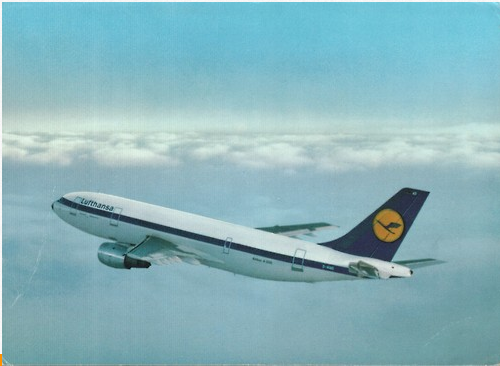 Airline postcards on Tumblr