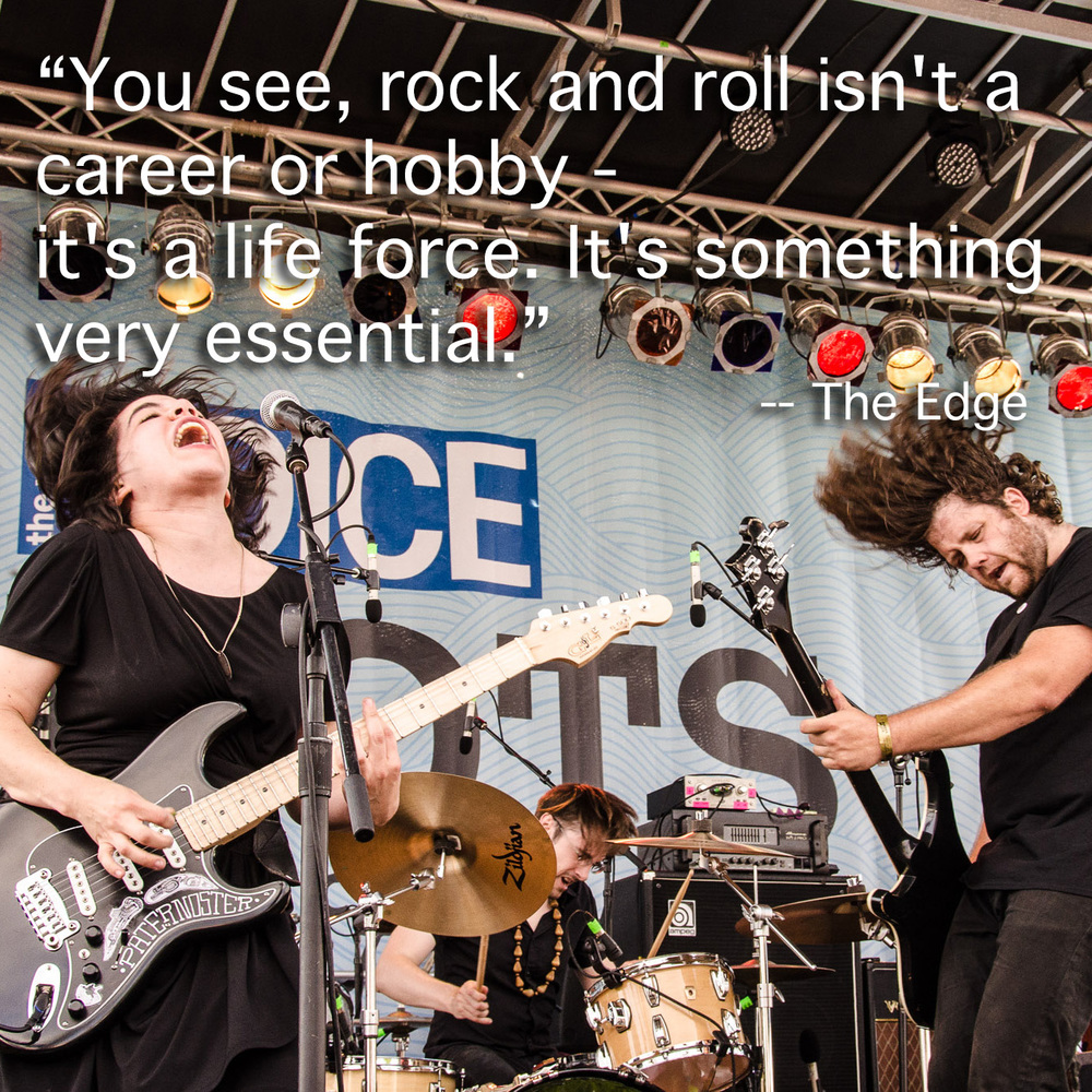 Screaming Females, 4 Knots Festival July 2015