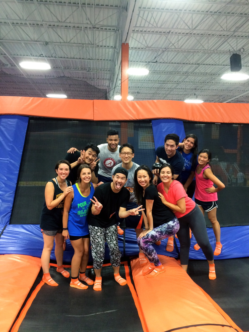 3. Who says two weeks of intensive training has to be stressful or boring? With 12+, training was not only educational; we made sure to take some time to bounce around and have some fun.