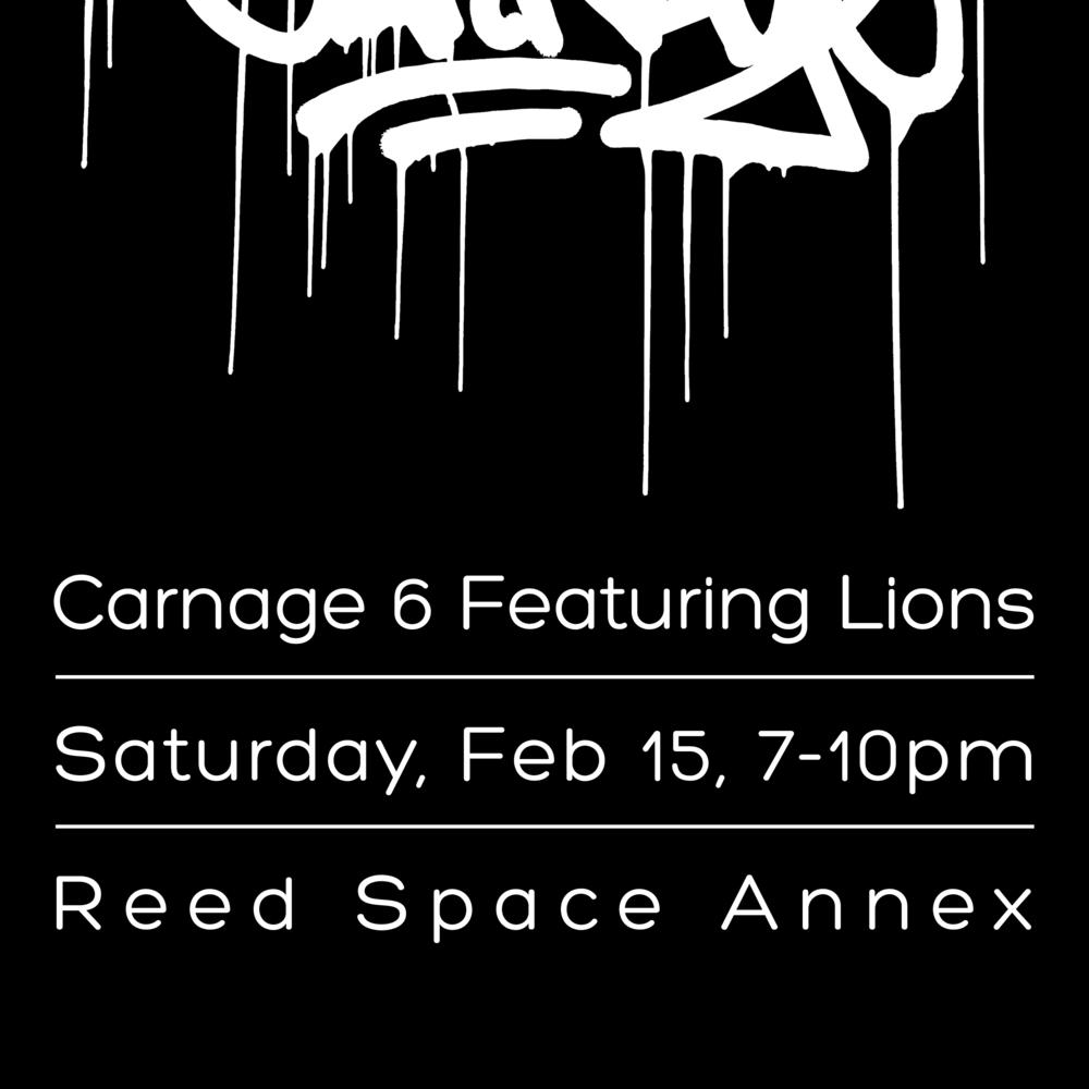 Carnage 6 release flyer.jpg