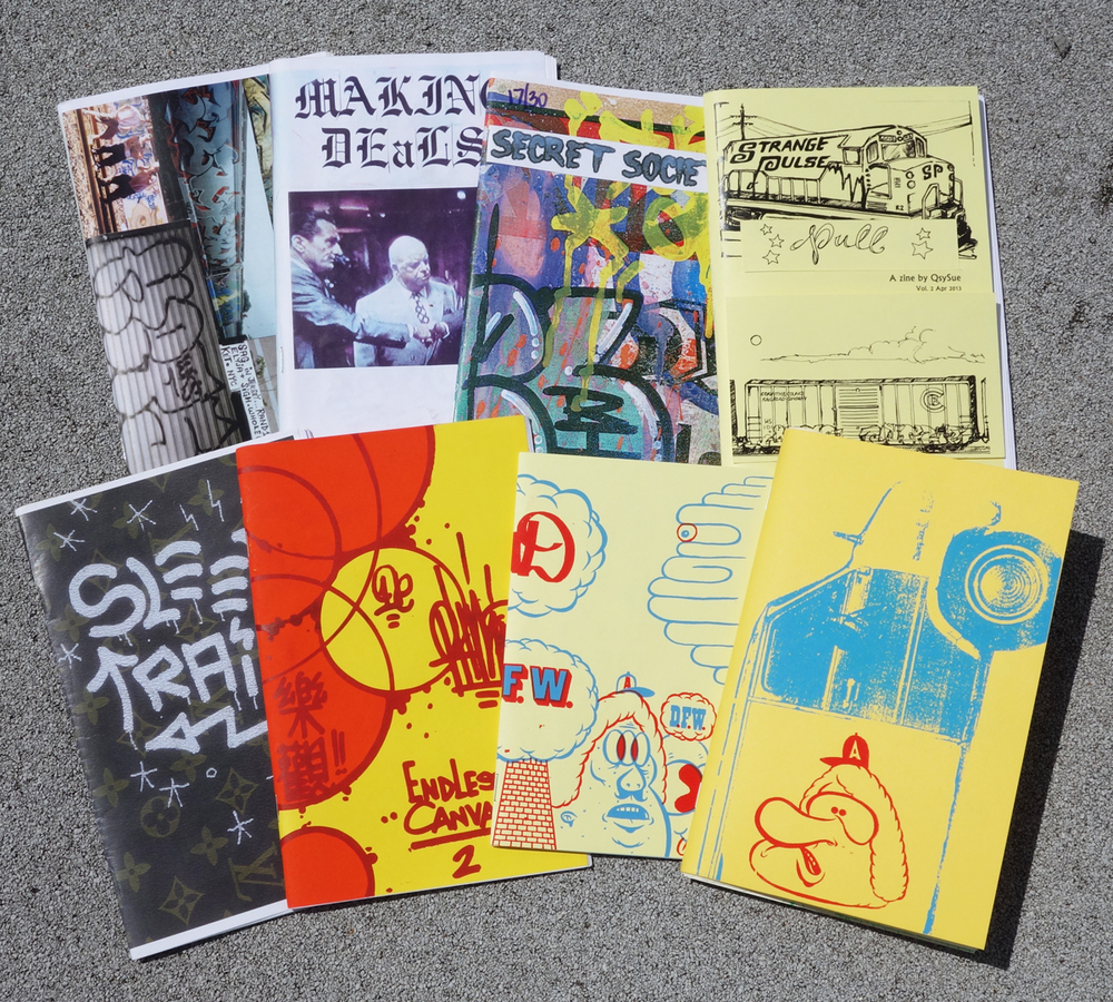 A few random gems from the Carnage zine archive.