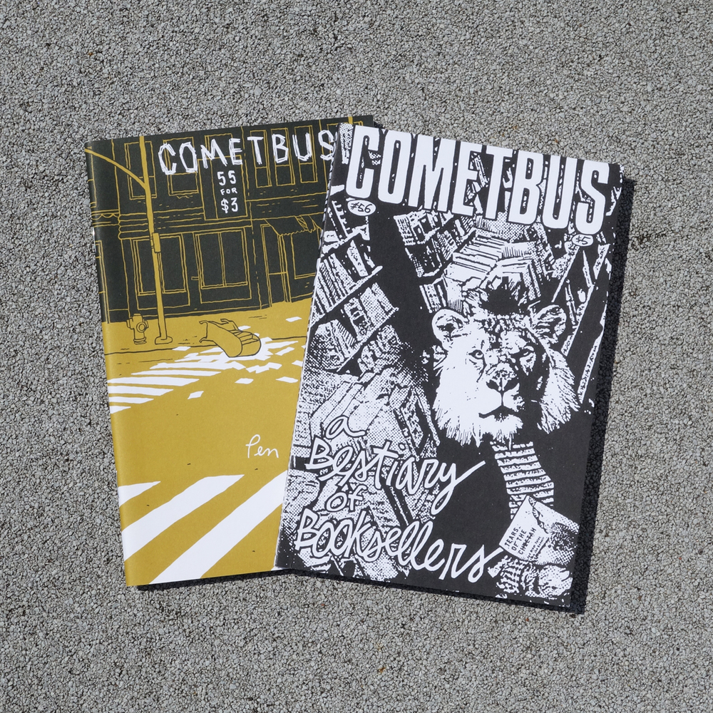 Cometbus has been going strong for decades, a true inspiration in DIY writing and publishing.