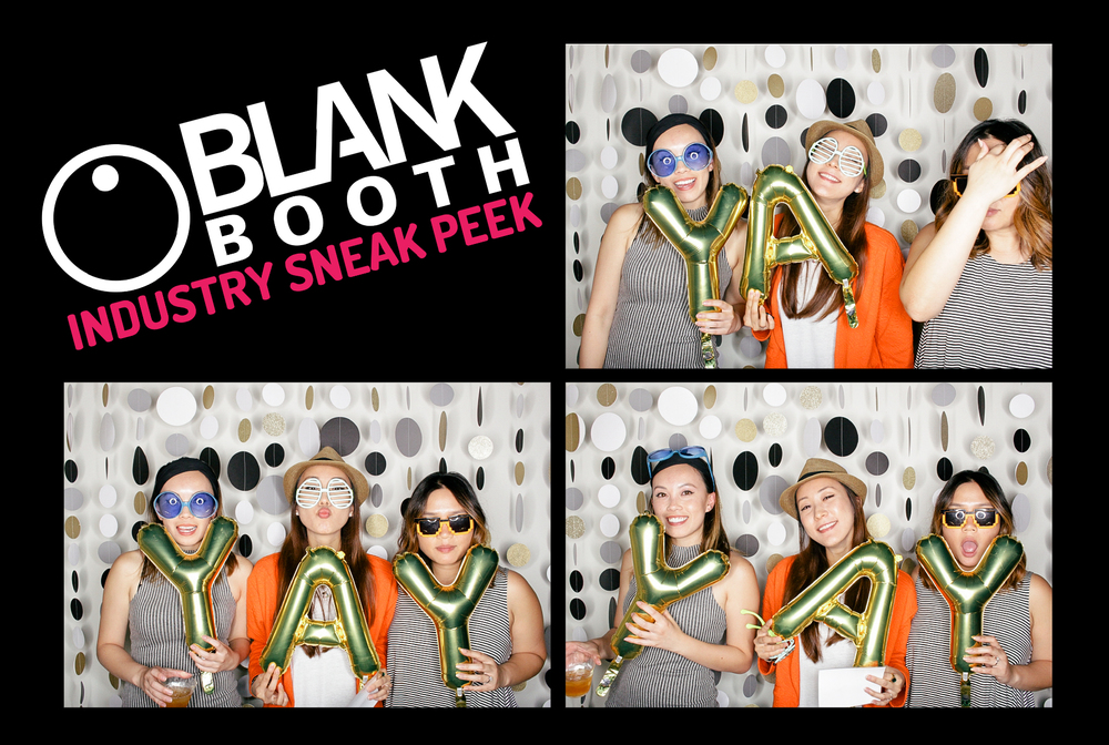 Blank Booth Industry Sneak Peek May 29, 2015 Long Beach, CA