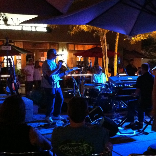 "This band just did the beat cover of Pink Floyd's ""Comfortably Numb"" (Taken with Instagram at Claremont West Courtyard)"