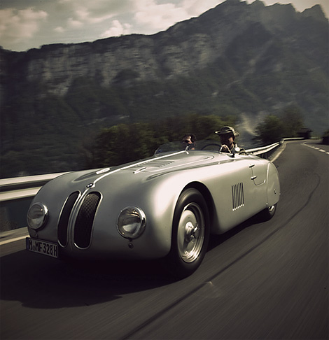 coolerthanbefore :     BMW 328 Mille Miglia