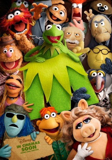 laughingsquid: New Muppets Poster