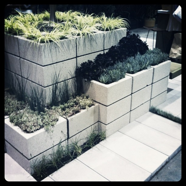FormLA's block module planters are nice. Want. (Taken with instagram)