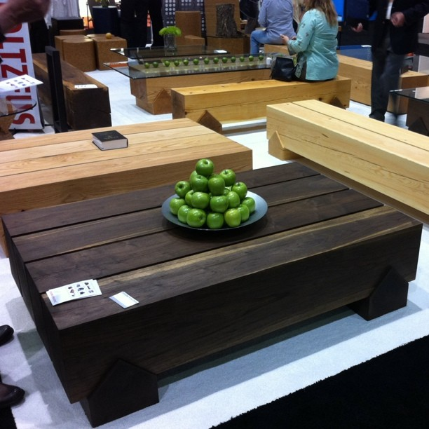 Check out this solid timber outdoor furniture. My dad would love this.  (Taken with  instagram )