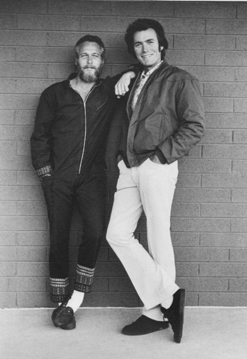 theimpossiblecool :     Newman & Eastwood.