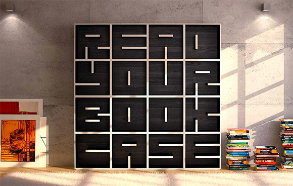 "the-point-of-view :       ""Read Your Book Case"" bookcase  by Eva Alessandrini and Roberto Saporiti for  Saporiti ."