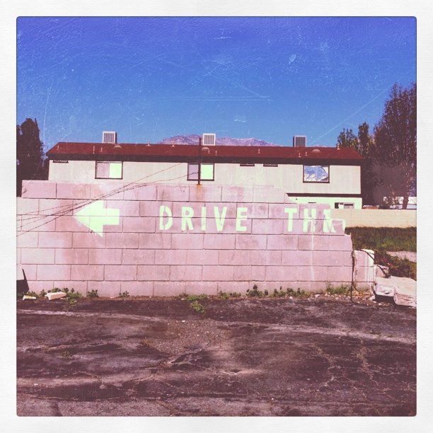 Drive thru (the wall) (Taken with  instagram )