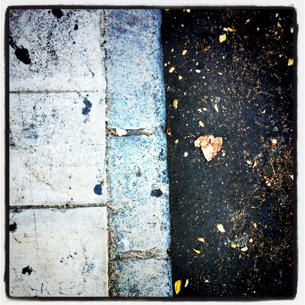 Curb (Taken with  instagram )