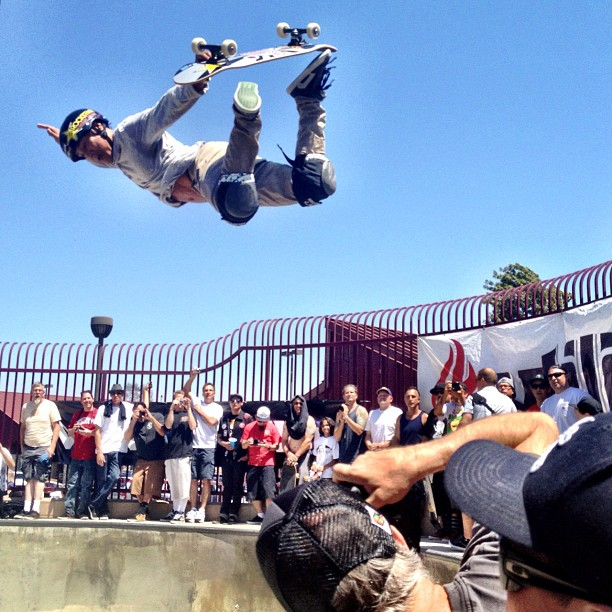 YGTBFKM (Taken with  Instagram  at Upland Skatepark)