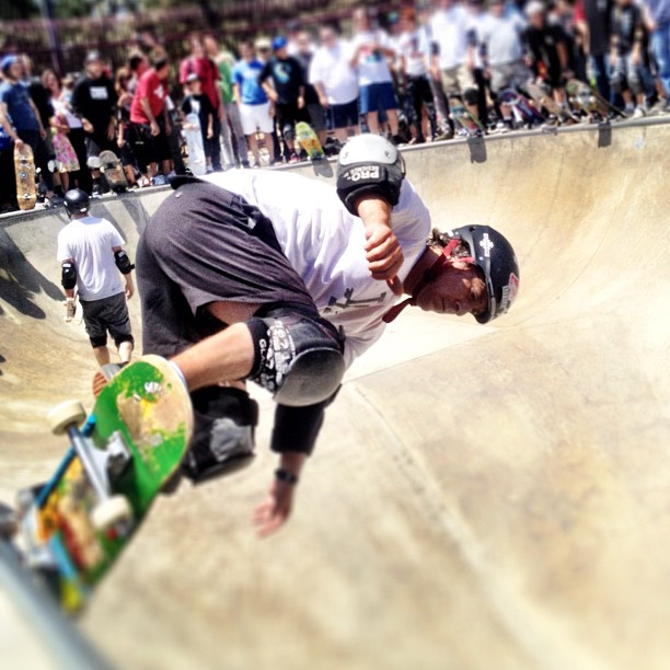 Mickey Alba (Taken with  Instagram  at Upland Skatepark)
