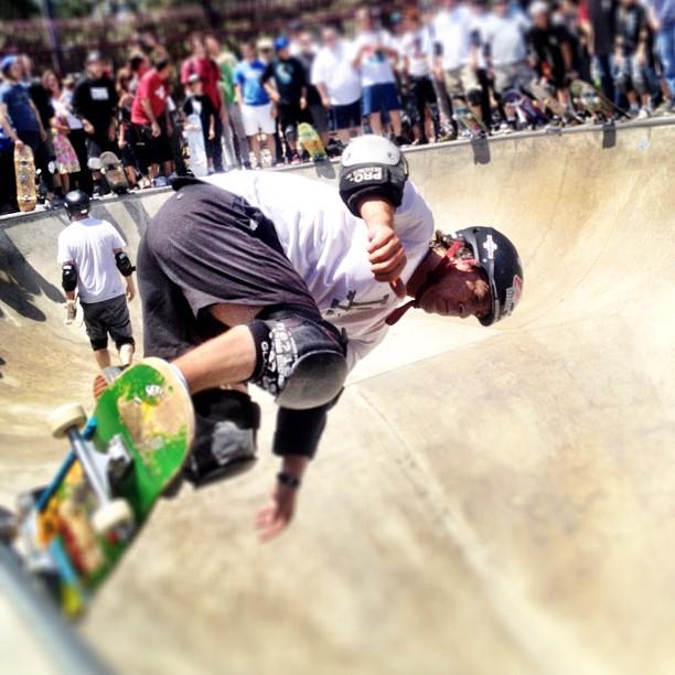 Mickey Alba (Taken with  Instagram  at Upland Skatepark)